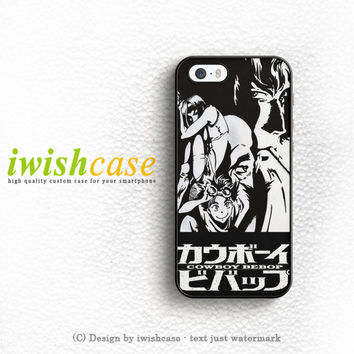 Anime Cowboy Bebop iPhone 5 5S 5C Case Cover