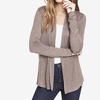 MIXED STITCH RIBBED INSET COVER-UP from EXPRESS