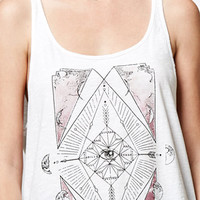 Billabong Moon And Earth Double Scoop Neck Tank Top at PacSun.com