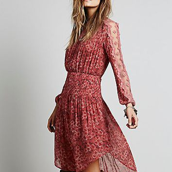 Free People Womens Open Waters Charlotte Dress