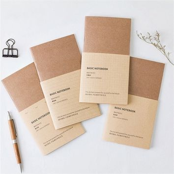 New Vintage Traveler's Notebook Kraft Refilll Replace Inner Page DIY Journal Notepads 4 Different Pages Planner Book#CL Fashion#
