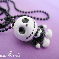 Baby Jack Skellington Ballchain Necklace Nightmare Before Christmas