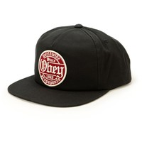 Obey Whiskey Snapback Hat