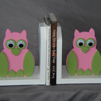 Too cute adorable owl bookends