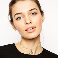 ASOS | ASOS Aum Symbol Choker Necklace at ASOS