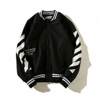 AUGUAU Off White Painting Arrow Jacket