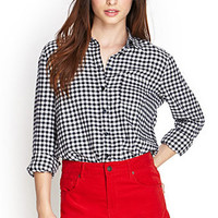 Cozy Flannel Button-Up