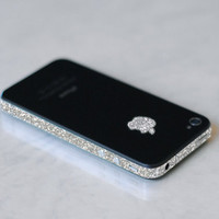 iPhone 4S Antenna Wrap (Sparkling Silver)