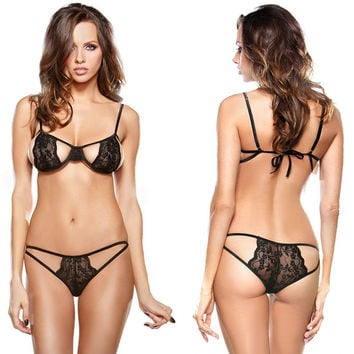 Cute Hot Deal On Sale Sexy Lace Club Exotic Lingerie [6595475587]