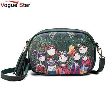Vogue Star 2017 Vintage Women bag Lady PU Leather Cross Body messenger Shoulder Bags Small Handbags Women Famous Brands LS551