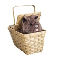 The Wizard of Oz Toto In Basket Deluxe
