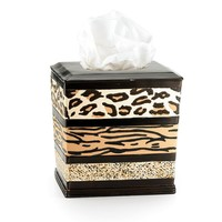 Gazelle Tissue Box Cover (Red)