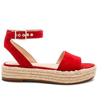 Vince Camuto Kathalia Flatform in Red Hot Rio | REVOLVE