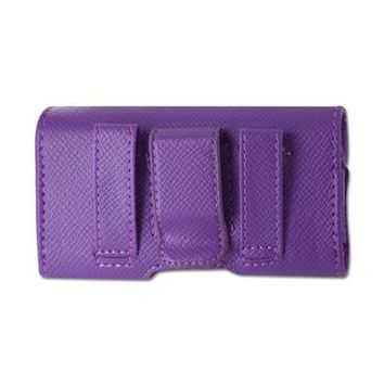 HORIZONTAL POUCH HP1023A MOTOLORA V9 PURPLE 4X0.5X2.1 INCHES: Case Of 120