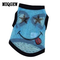 DCCKU7Q dog clothes for small dogs summer funny dog clothing Pet Products pets clothing