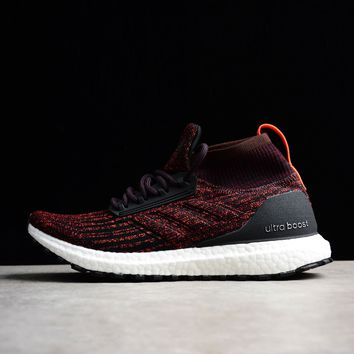 Best Online Sale Adidas Ultra Boost ATR Trace Mid Burgundy Boost Men Sport Shoes S82035
