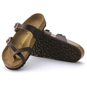 Sale Birkenstock Mayari Oiled Leather Habana 0171321/0171323 Sandals
