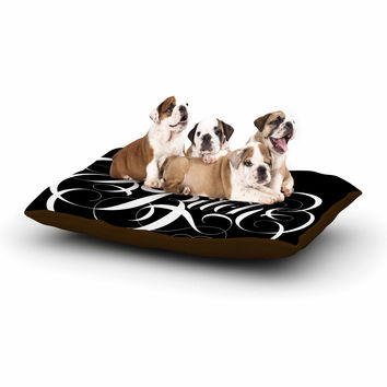 "Roberlan ""Karma Beesh "" black white Dog Bed"