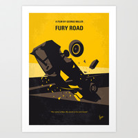 No051 My Mad Max 4 Fury Road minimal movie poster Art Print by Chungkong