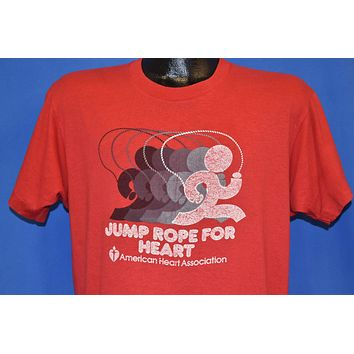 80s Jump Rope for Heart t-shirt Large