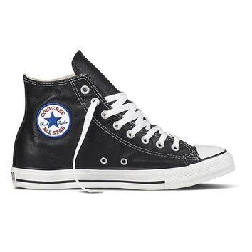 Converse Chuck Taylor High Top - Black Leather
