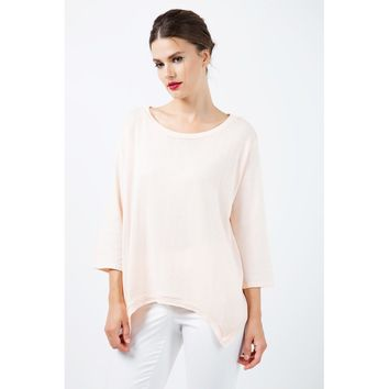 Gold Round Neck Sleeves Top