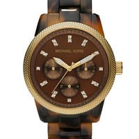 Women's Michael Kors 'Jet Set' Bracelet Watch, 38mm - Tortoise