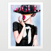 Vogue in Colour Art Print by Studio 15 Collective