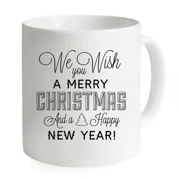 Creative Mugs Coffee Ceramic Mugs Tea Milk Water Unique Printed Custom Merry Christmas Gifts Simple Camping Travelling Mugs