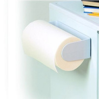 Spectrum Diversified White Magnetic Paper Towel Holder