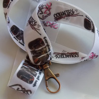 READY TO SHIP Browning Country  Camo Lanyard .  Browning Camo lanyard  Everything goes well with camo