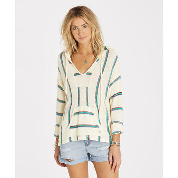 BONFIRE BEACH BAJA SWEATER