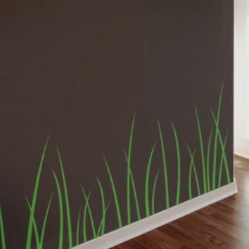 Surface Collective's Wall Tattoos / Wall Decals / Laptop Decals - Product - Grass Blades