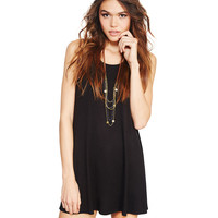 Soft Keyhole Trapeze Dress | Wet Seal