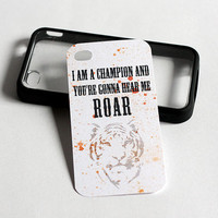 iPhone4/4s Case Insert : Katy Perry Roar Inspired