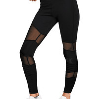 Ultimate High Waist Mesh Legging - PINK - Victoria's Secret