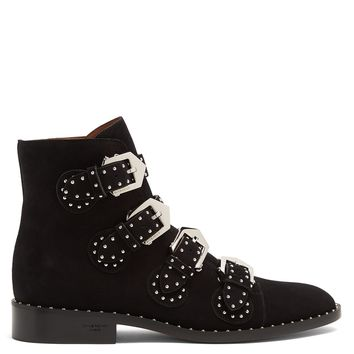 Elegant studded suede ankle boots | Givenchy | MATCHESFASHION.COM US