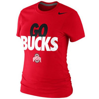 Ohio State Buckeyes Nike Women's Local Slim Fit T-Shirt – Scarlet