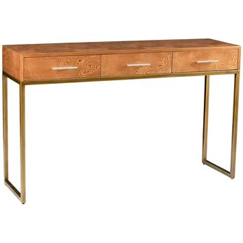Andres Iron Frame Console