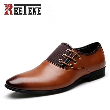 Fashion Leather Men Oxford, Casual Simple Men Dress Shoes, High Quality Genuine Leather Oxford Shoes For Men
