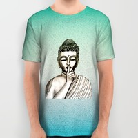 BUDDHA All Over Print Shirt by Vanya