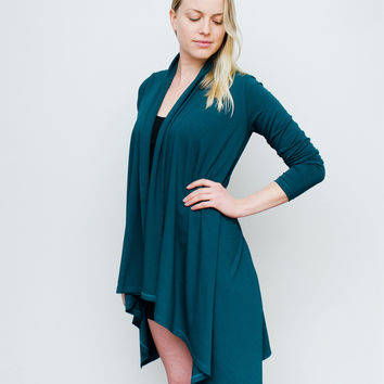 Wrapped Cardigan | TEAL