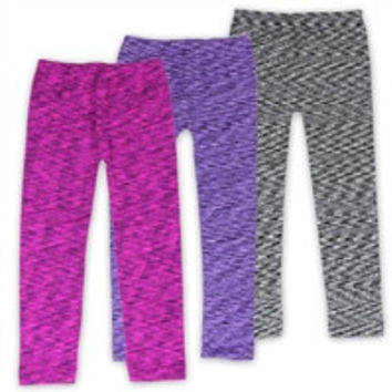 CRUSH Girls Toddler Fleece Lined Leggings -4-6X-22896