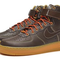Nike Air Force 1 315121-203 Brown For Women Men Running Sport Casual Shoes Sneakers