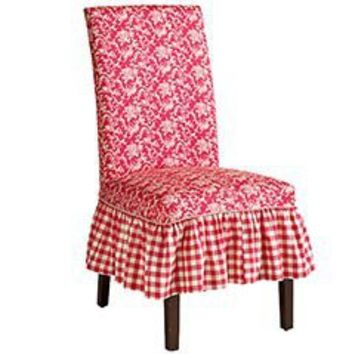 Red Checkered Dana Slipcover From Pier 1 Imports Home