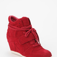 Urban Outfitters - Ash Suede Bowie High-Top Wedge-Sneaker