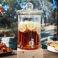 Main Street Glass Beverage Dispenser