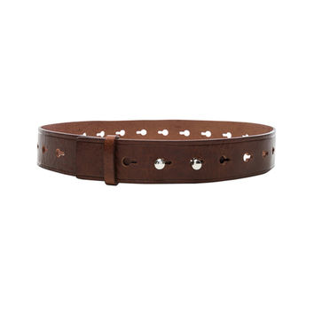 Isabel Marant Marcia Belt in Brown | FWRD