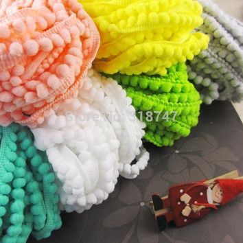 Trim Ball Fringe Ribbon Sewing Accessory Lace