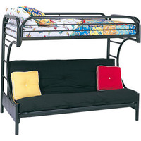 Walmart: Eclipse Twin Over Full Futon Bunk Bed, Multiple Colors